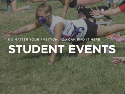 Whether you're returning to your hometown this summer or staying in Lincoln, keep referring to the Student Events calendar all summer for Husker events.