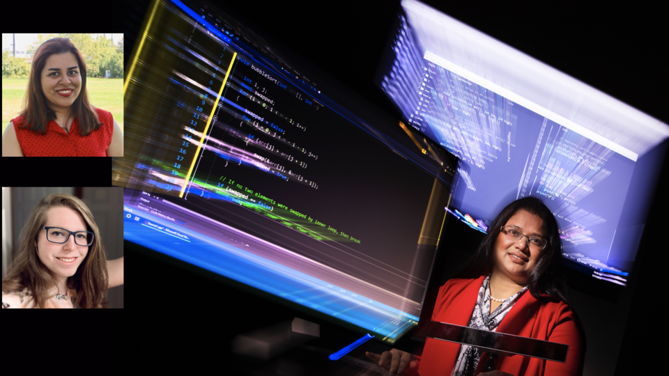 Bonita Sharif and her graduate students will lead a Virtual Sunday with a Scientist program on May 23.