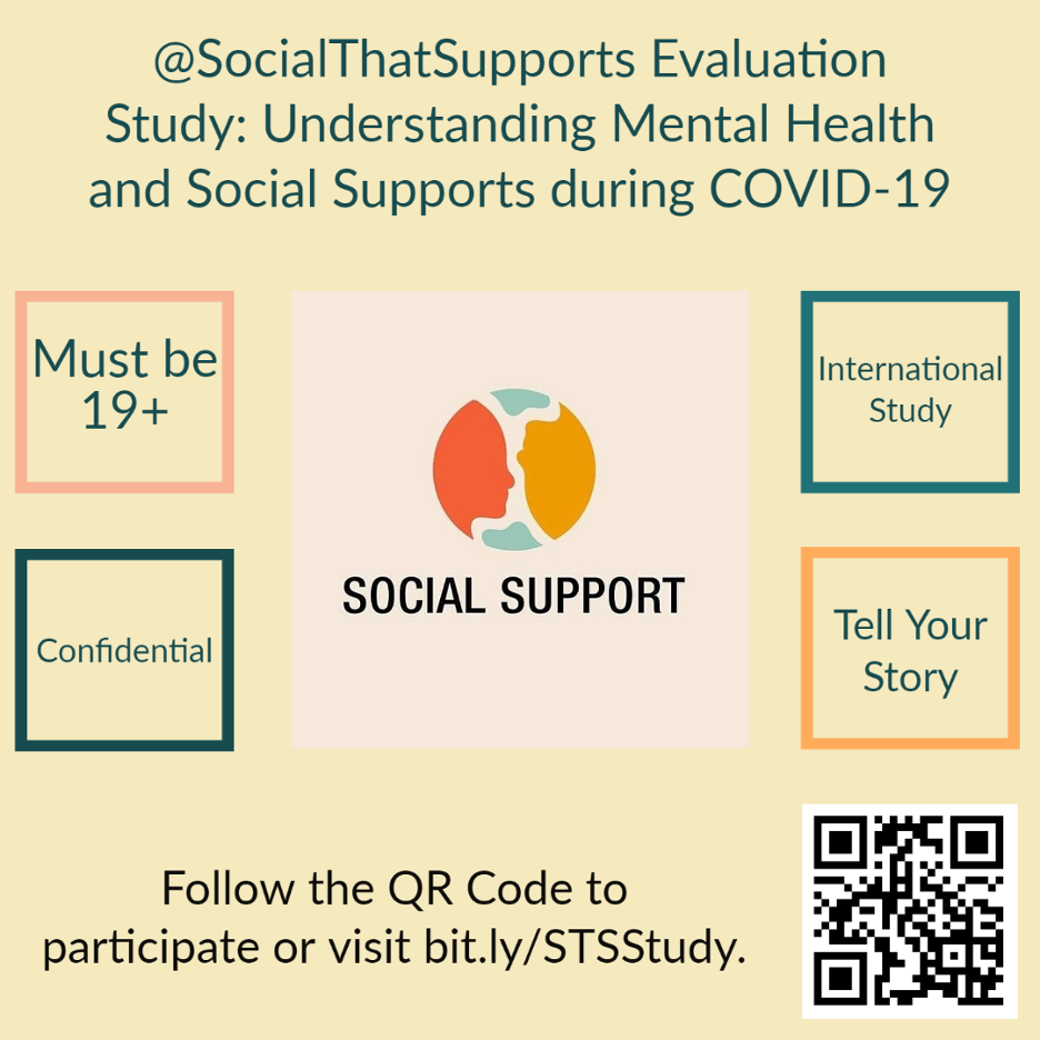 Participate in an online study evaluating how the current health, economic, and racial crises are affecting you.