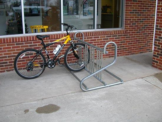 Landscape Services seeks feedback about bike parking on campus. A survey is available at http://go.unl.edu/5ow.