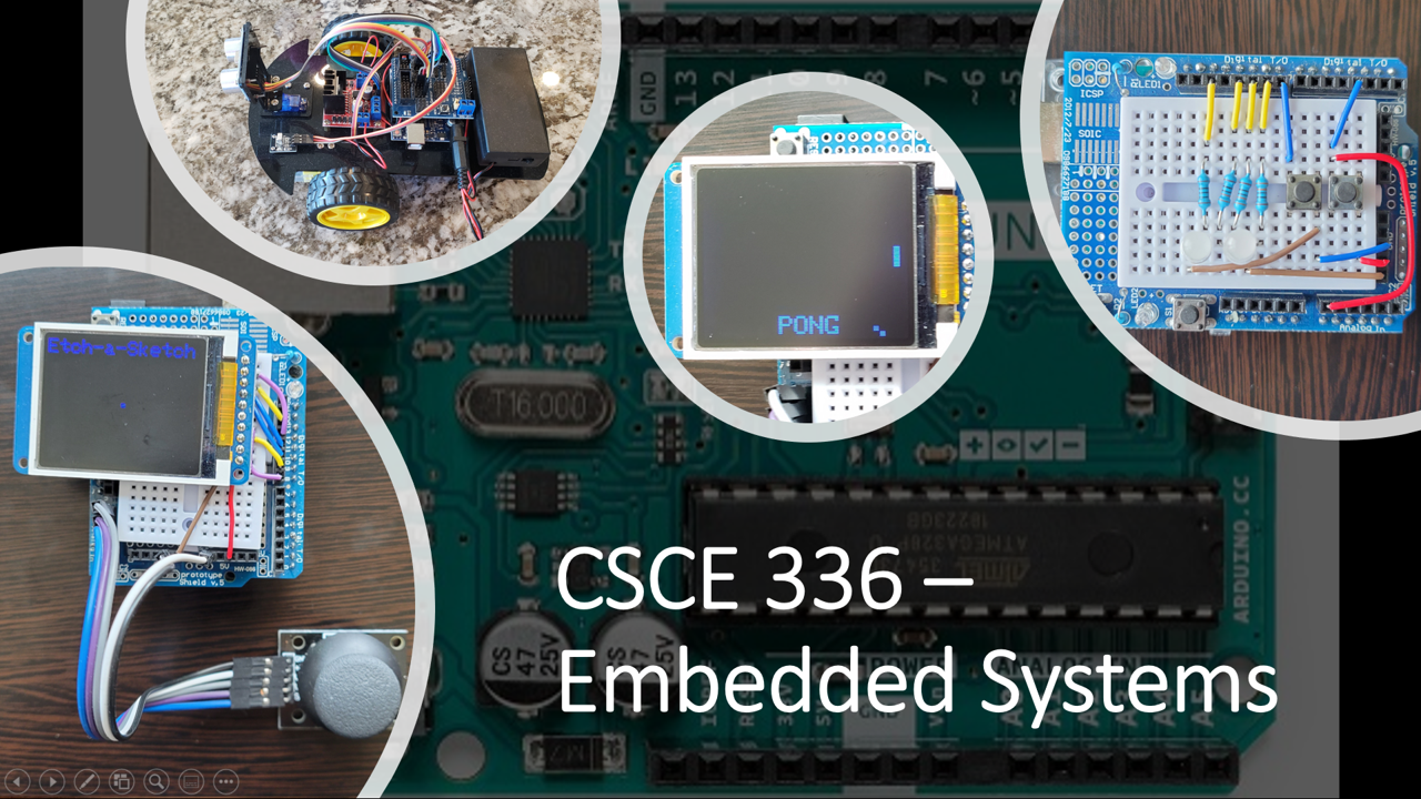 CSCE 336 - Embedded Systems Course Image