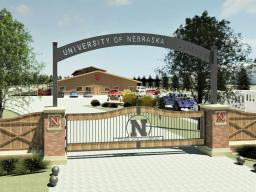 An artist's rendering of the entrance to the planned Equine Sports Complex at Nebraska.  Courtesy image | Settje Agri-Services and Engineering
