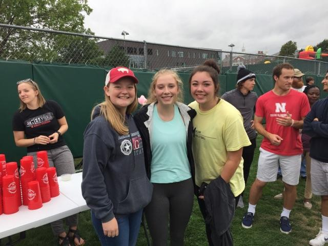 Students at Rock the Block in 2019.