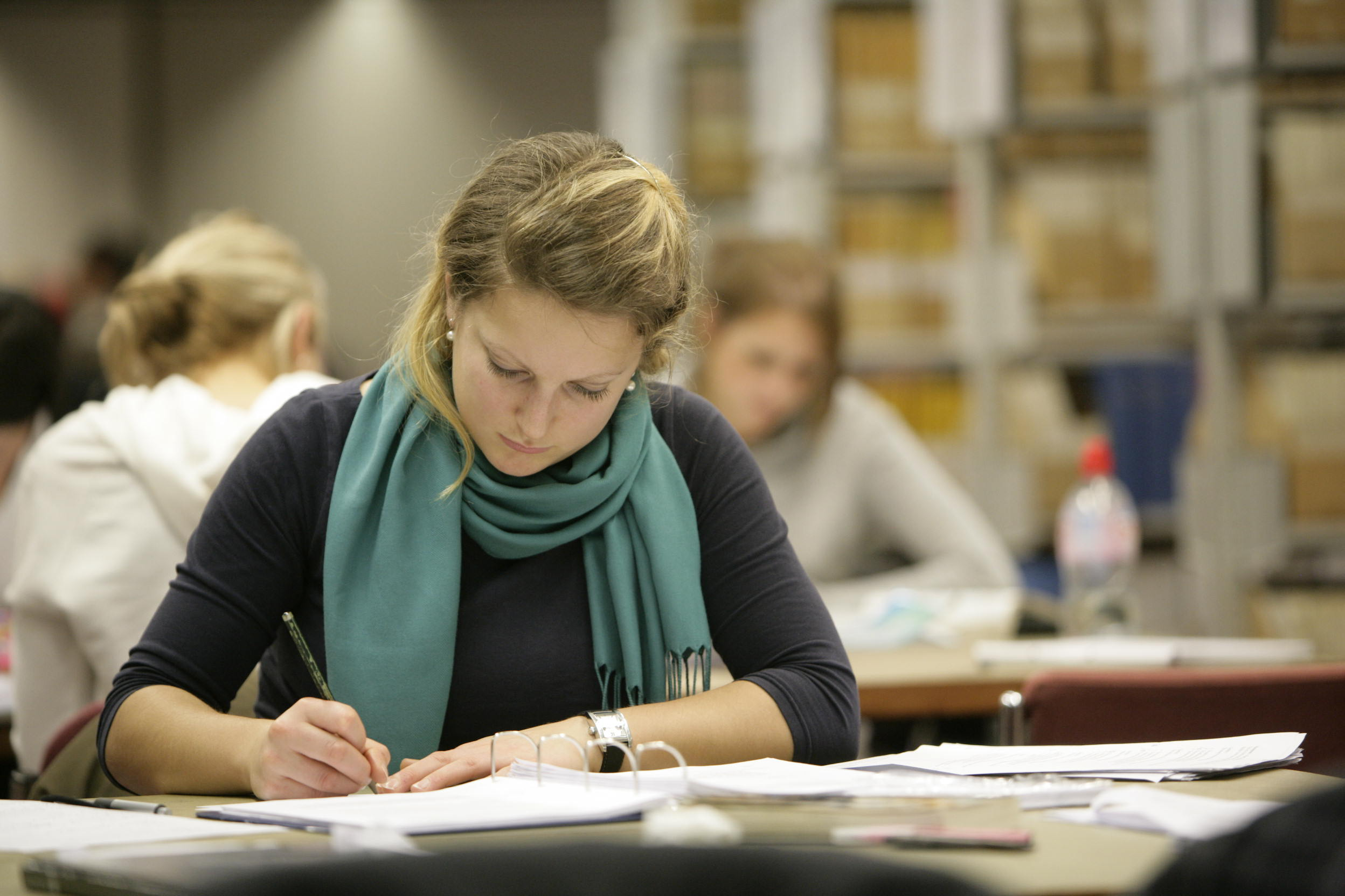 Image result for student studying in library