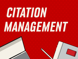 Learn Zotero to manage your citations in this online session with librarian, Erica DeFrain