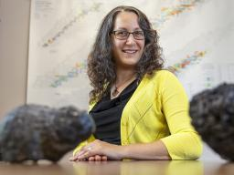 Lynne Elkins, assistant professor of Earth and atmospheric sciences at Nebraska, has earned a five-year, nearly $700,000 grant from the National Science Foundation's Faculty Early Career Development Program to develop a tool that may shed light on the com