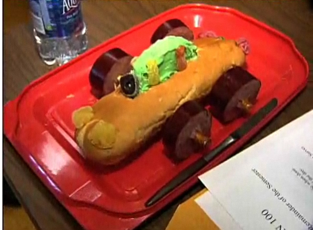 Today Unl Student Engineers Putting Edible Cars To The Test