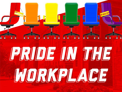 LGBTQA+ students and their allies will discuss inclusion at work with employers actively engaged in diversity and inclusion efforts.