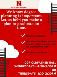 Stop By To Get Help With Degree Planning