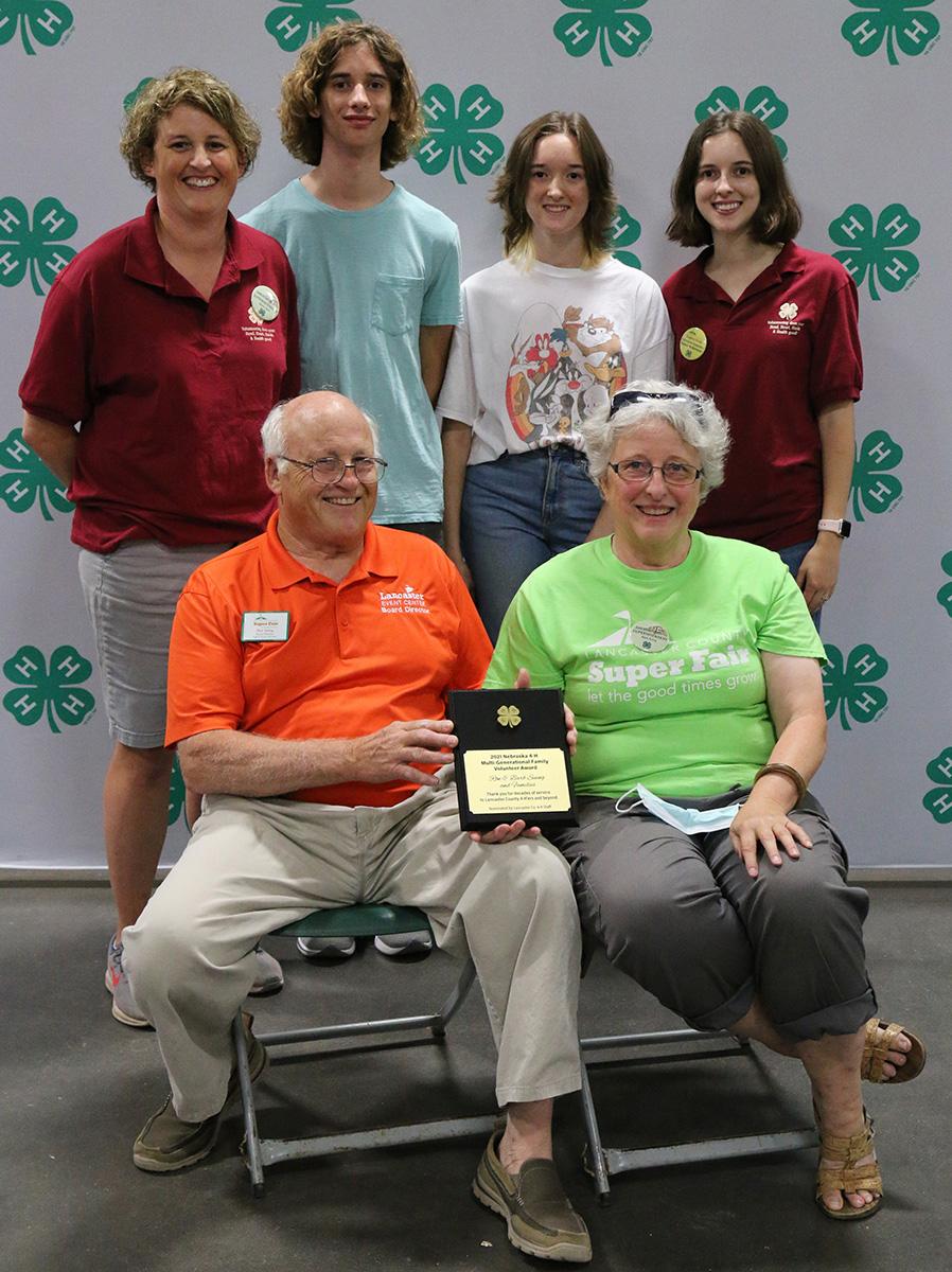 Suing family members at 2021 Lancaster County Super Fair informal presentation.