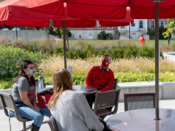 The Collegiate Recovery Community offers students in recovery an opportunity to connect and socialize in a supportive environment.