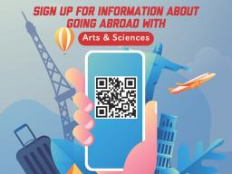 Education Abroad in the College of Arts and Science!