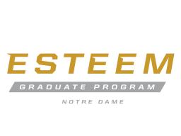 Notre Dame ESTEEM Graduate Program