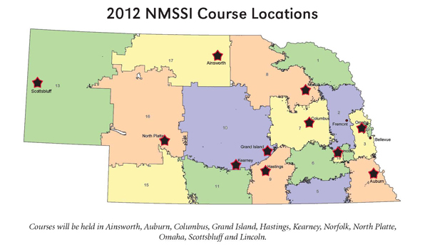 NMSSI 2012 Locations