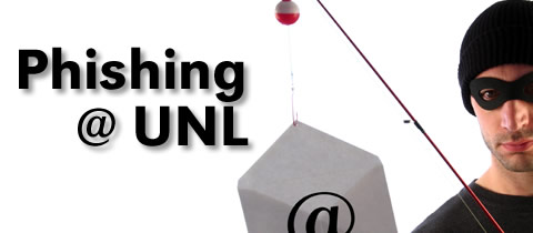 Don't get reeled in by phony emails!