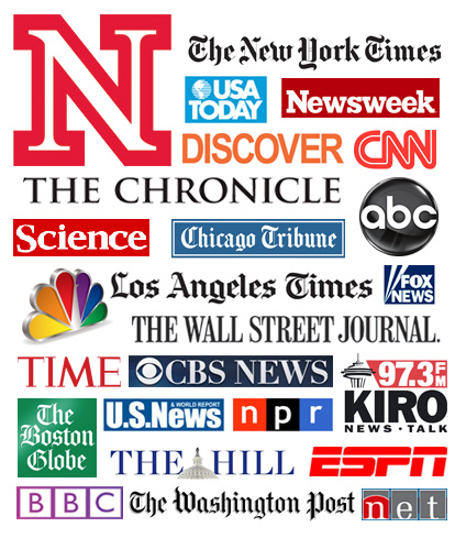 UNL netted more than 200 positive national news placements and appearances in 2011.