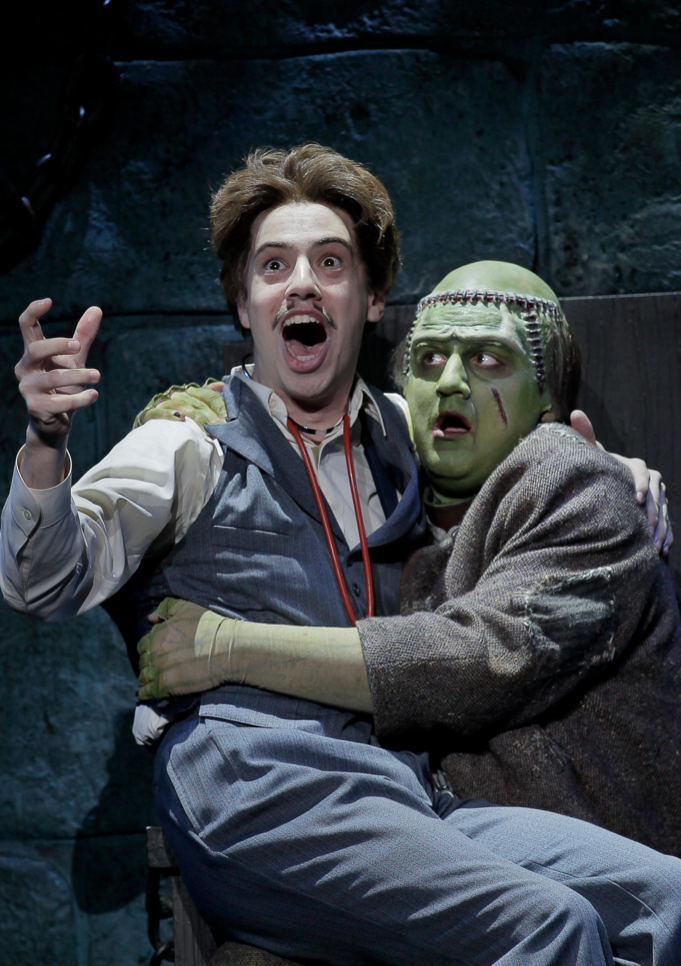 "The Broadway show ""Young Frankenstein"" will perform two shows Jan. 21 at the Lied Center for Performing Arts."