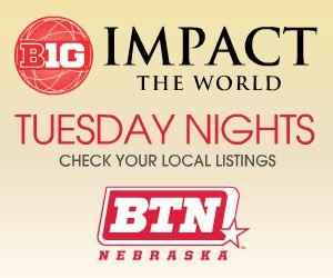 Big Ten Network Impact the World graphic