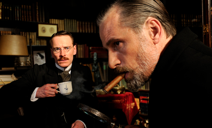 """Scene from """"A Dangerous Method,"""" showing Jan. 27 to Feb. 9 at the Mary Riepma Ross Media Arts Center."""