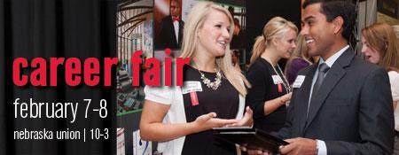 UNL Spring Career Fair: February 7-8