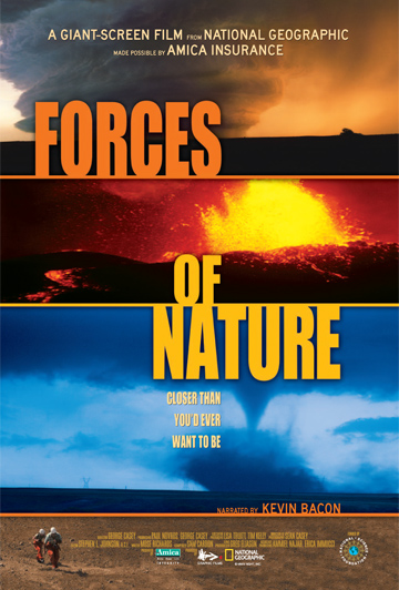 """National Geographic's """"Forces of Nature."""""""