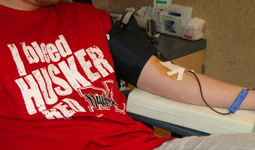 "UNL will participate in the ""Border Challenge"" blood drive with Big Ten universities starting Jan. 30."