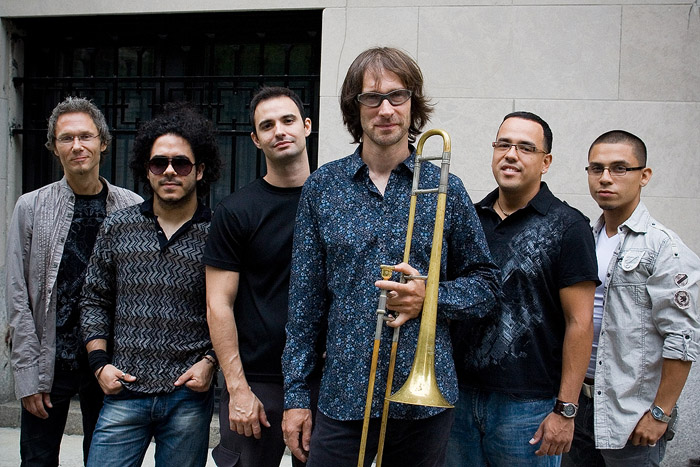 NYC Latin jazz band SYOTOS with Chris Washburne