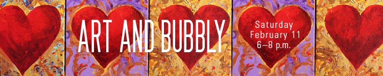 """""""Art and Bubbly,"""" a fundraiser for the Sheldon Art Association, is 6 to 8 p.m., Feb. 11 at the Sheldon Art Museum."""
