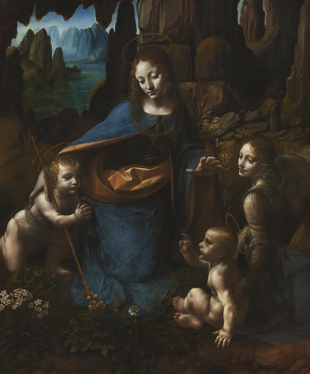 "Leonardo da Vinci's ""Virgin of the Rocks"""