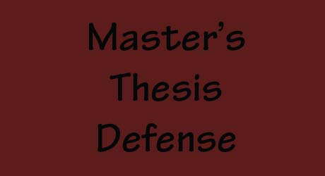 master s thesis defense tips