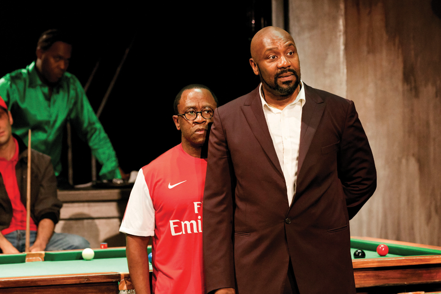 "Lenny Henry and Lucian Msamati in ""The Comedy of Errors"""