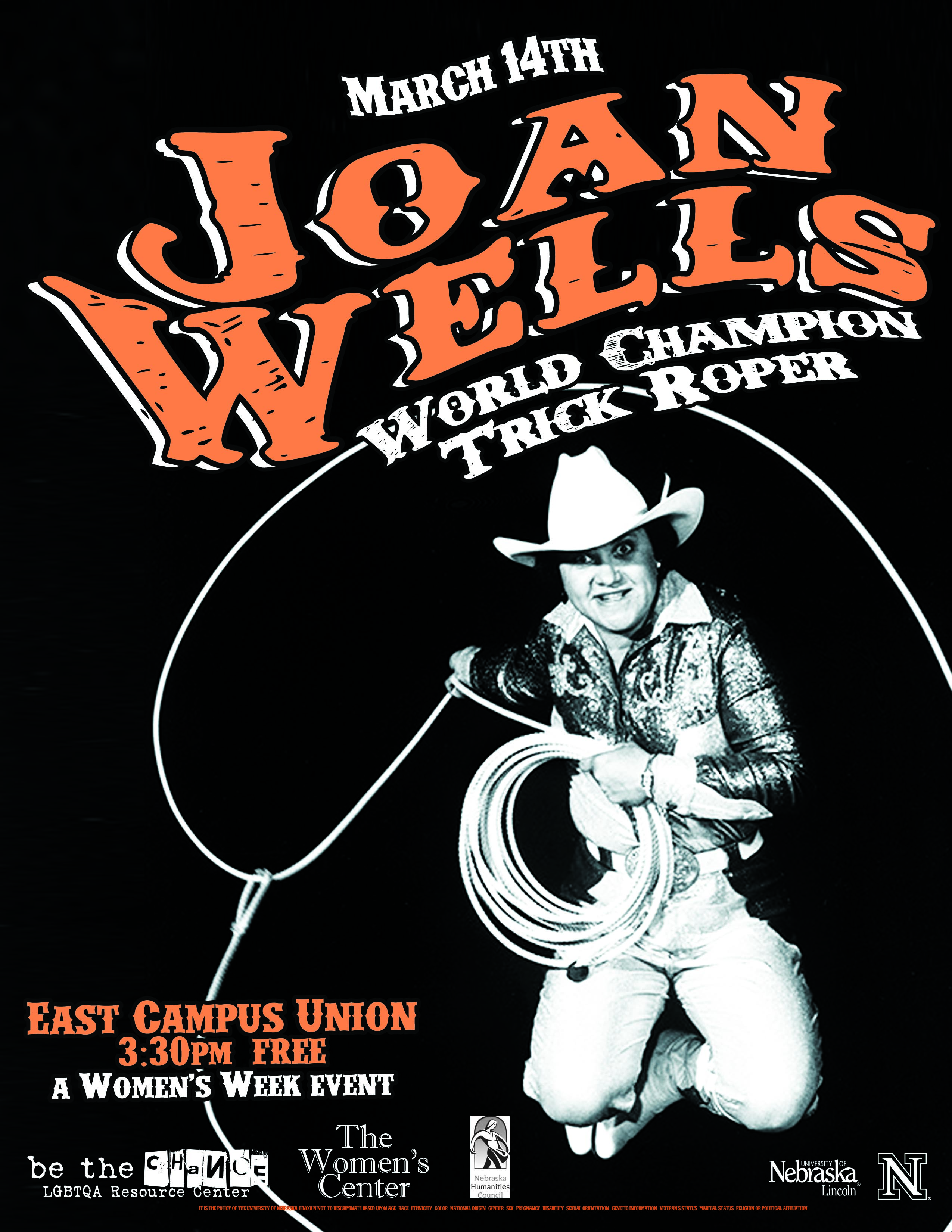 Joan Wells:  World Champion Trick Roper