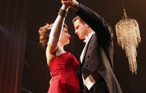 """Scene from the UNL opera program production of """"The Coronation of Poppea."""" Photo by Mike Edholm,Music"""
