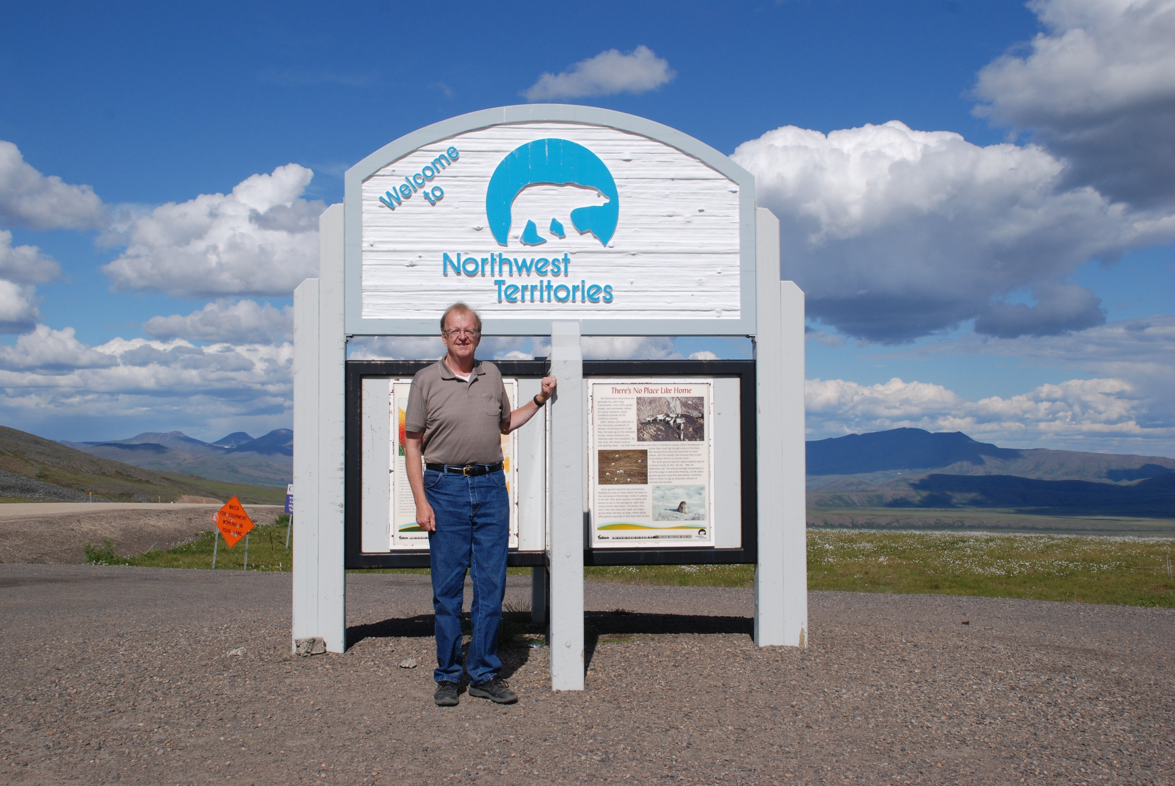 Ken Dewey visited the Canadian Northwest Territories, documenting the impacts of climate change for his outreach speaker series and his photo web sites.