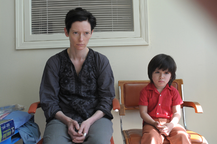 "Tilda Swinton in ""We Need To Talk About Kevin."""