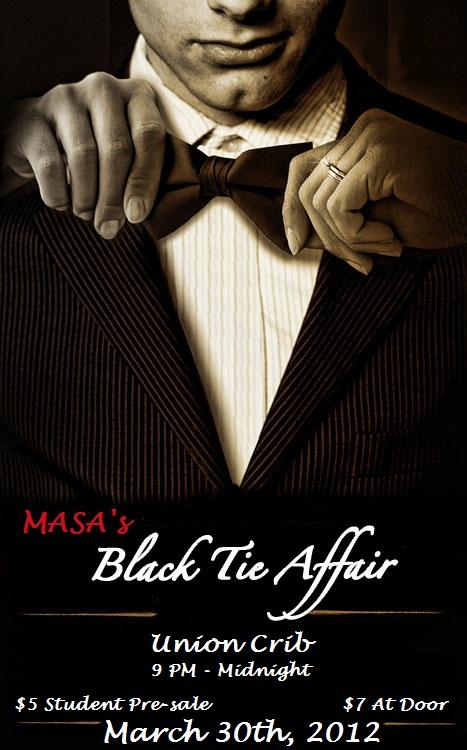 MASA's Black Tie Affair