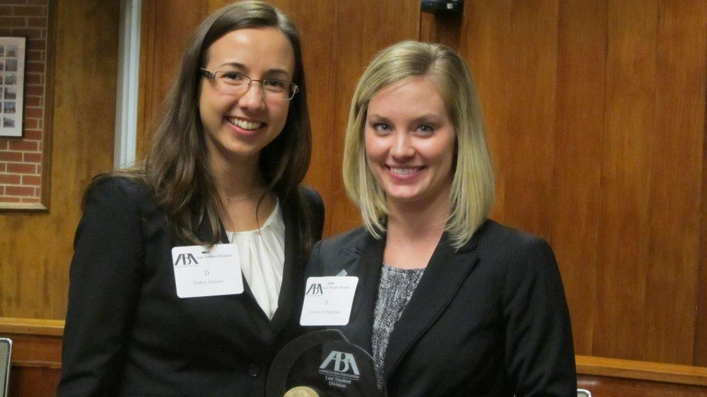 Audrey Johnson, left; and Christine Baughman.