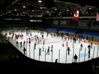 Free Skate Night is at the Ice Box on Innovation Campus.