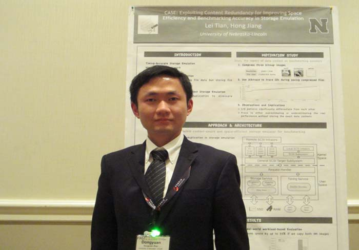 Dongyuan Zhan Is A CSE PhD Candidate At UNL