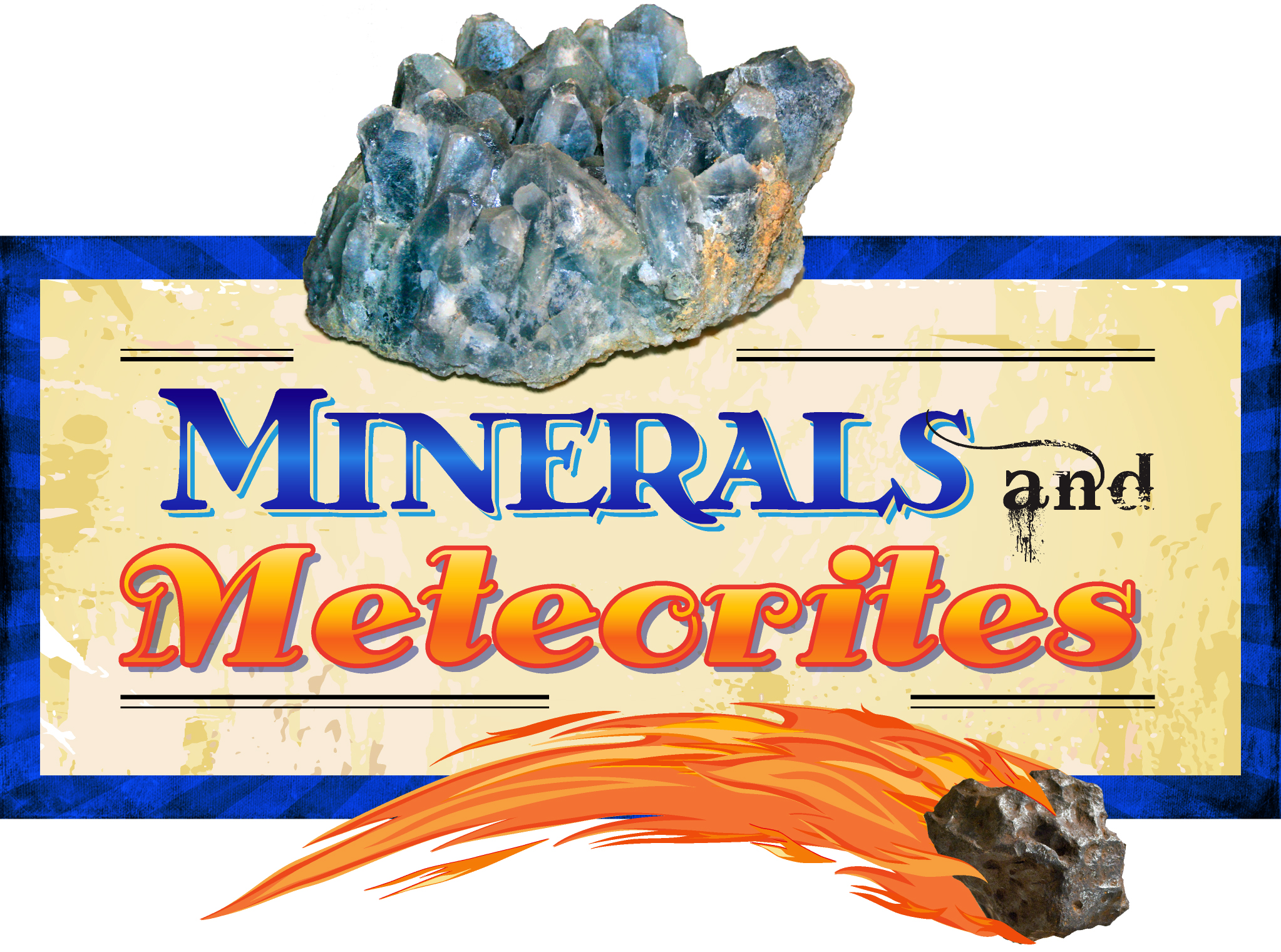 Morrill Hall's 'Minerals & Meteorites' exhibit opens April 21.