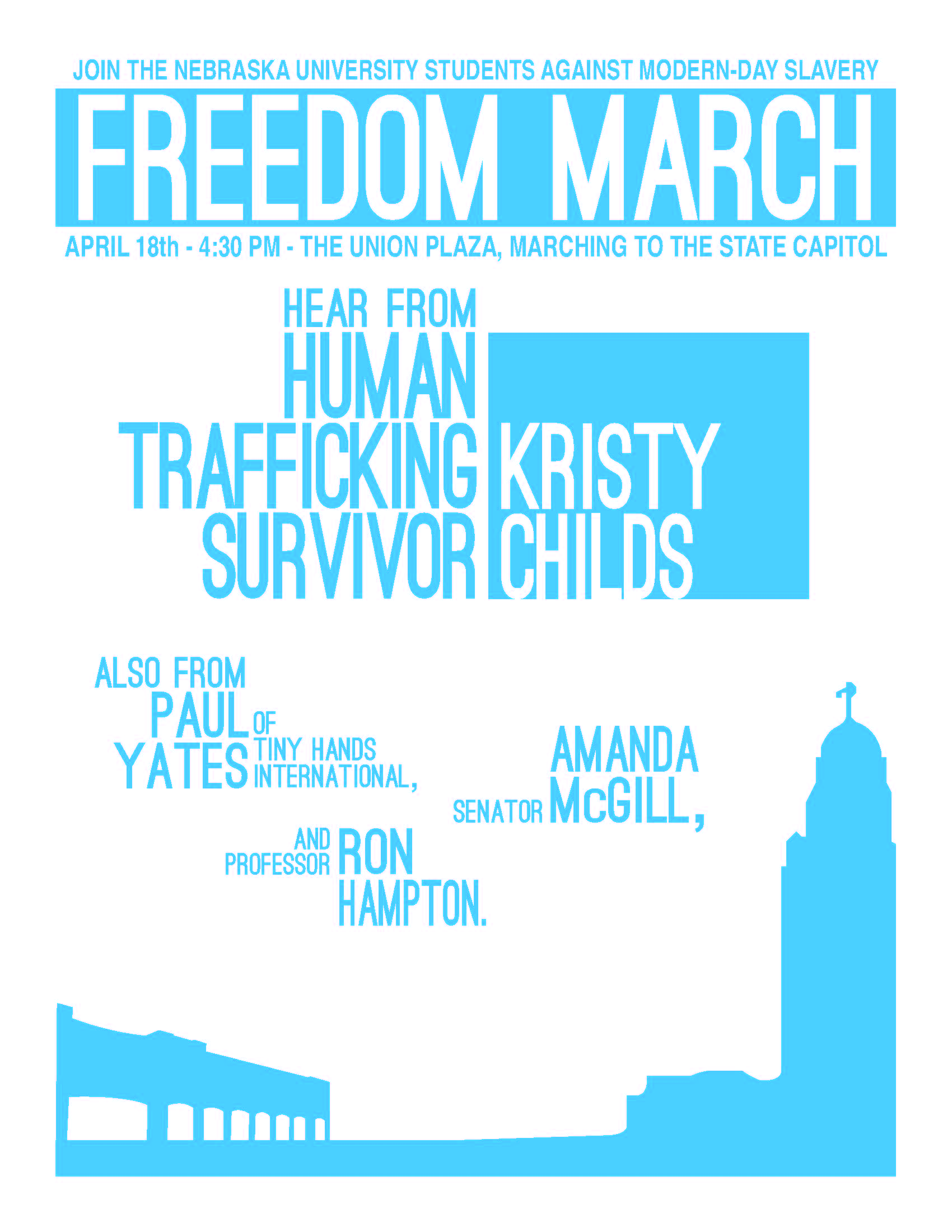 Freedom March - April 18th @ 4:30 Union Plaza
