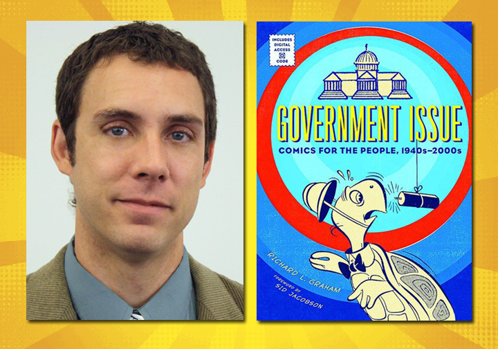 "Richie Graham has been nominated for a Will Eisner Comic Industry Award for editing ""Government Issue: Comics for the People: 1040s-2000s."""