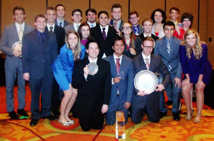 The UNL Speech and Debate team finished eighth in the nation and first among all Big Ten universities competing at the national tournament in Texas.