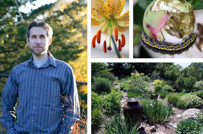 "English lecturer Benjamin Vogt is author of the gardening blog ""The Deep Middle."" The site features gardening tips, photos from Vogt's garden and selections from his published works."