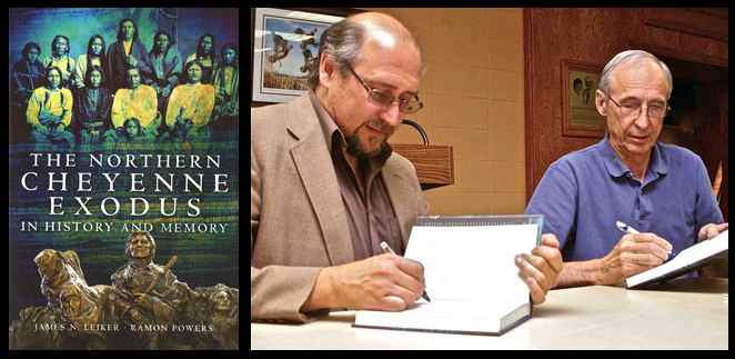 "The book ""The Northern Cheyenne Exodus in History and Memory,"" by (left) James Leiker and Ramon Powers, won the 2012 Great Plains Distinguished Book Prize from the Center for Great Plains Studies at UNL."