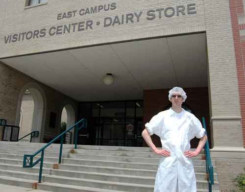 Jonathan Hnosko has been UNL's Dairy Plant Manager since 2007.