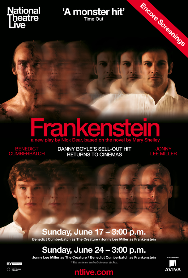 Encore screenings of National Theatre's 'Frankenstein ...
