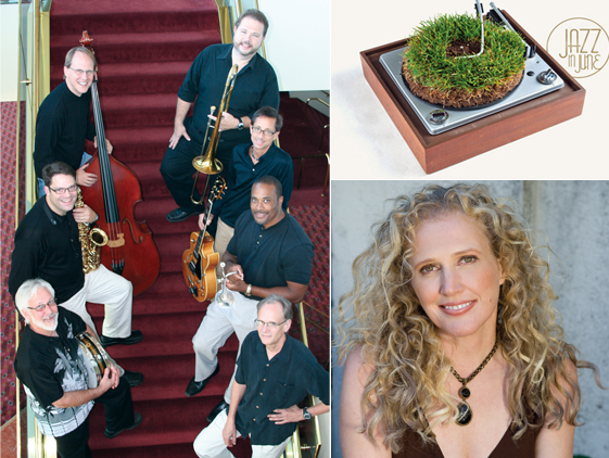 The June 19 Jazz in June performance will feature the UNL Faculty Jazz Ensemble with special guest vocalist Jackie Allen.