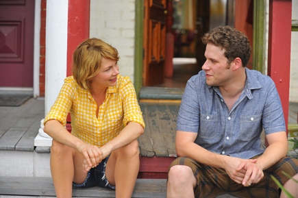 """Michelle Williams and Seth Rogan in """"Take This Waltz."""""""