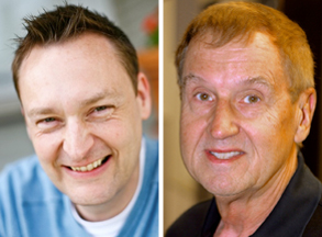 Brian Ardinger, left, and Luke Smith